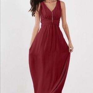 Weddington way scarlet dress in Cabernet